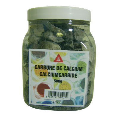 carbure de calcium 500 gr anti taupes r puslsif articles quincaillerie. Black Bedroom Furniture Sets. Home Design Ideas