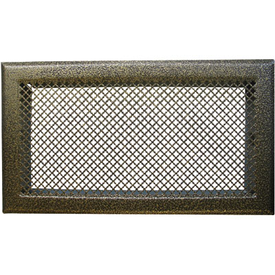 grille d 39 a ration de chemin e bronze 345 x 195 mm dmo. Black Bedroom Furniture Sets. Home Design Ideas