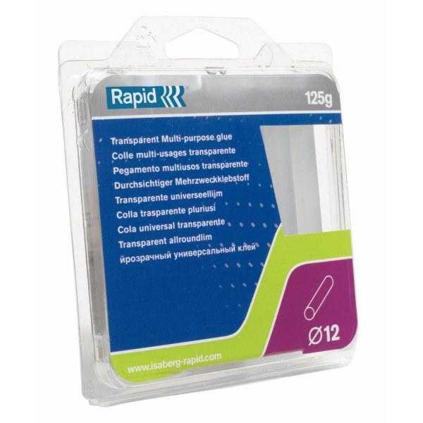 Baton de colle usage standard pour pistolet 12 mm transparent - Baton de colle pour pistolet ...