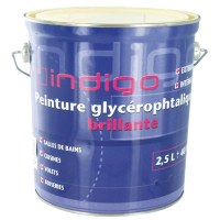 Peinture finition glycéro brillante - Champagne - 2.5 L - INDIGO