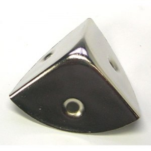 coin en acier pour malle ou coffre visser 20 mm articles quincaillerie. Black Bedroom Furniture Sets. Home Design Ideas