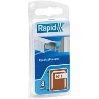 Agrafe n°1 Rapid Agraf - Dimensions 8 mm - 860 agrafes