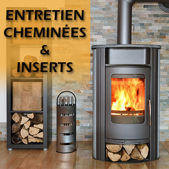 Entretien des cheminées et inserts