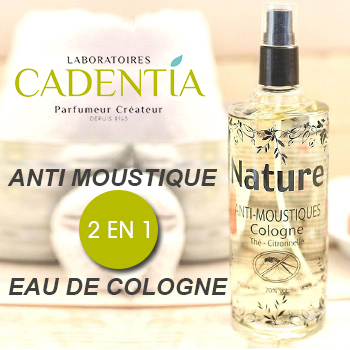 Nature - Anti-moustique et eau de cologne