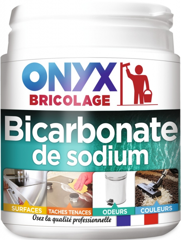 bicarbonate de sodium alimentaire 500 gr onyx articles quincaillerie. Black Bedroom Furniture Sets. Home Design Ideas