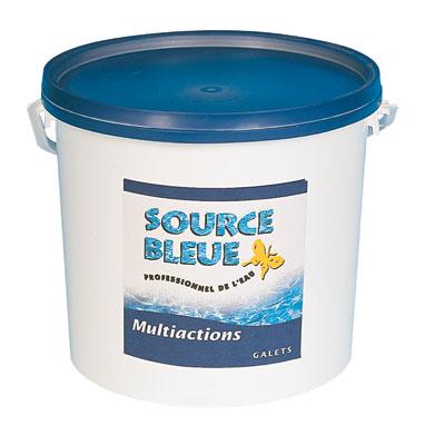 chlore multiactions source bleue de 5 kg en galets articles quincaillerie. Black Bedroom Furniture Sets. Home Design Ideas