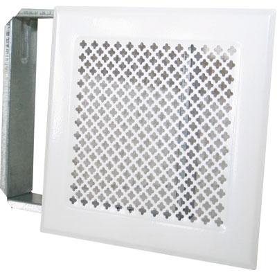 grille d 39 a ration chemin e blanc 170 x 170 mm dmo articles quincaillerie. Black Bedroom Furniture Sets. Home Design Ideas