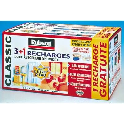 recharge pour absorbeur d 39 humidit classic 1 kg rubson. Black Bedroom Furniture Sets. Home Design Ideas