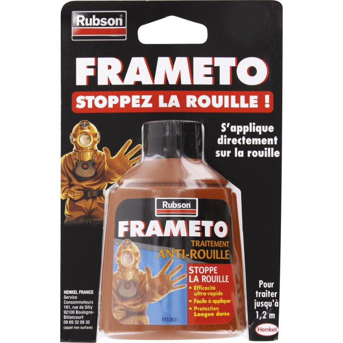 antirouille action rapide 90 ml frameto articles quincaillerie. Black Bedroom Furniture Sets. Home Design Ideas