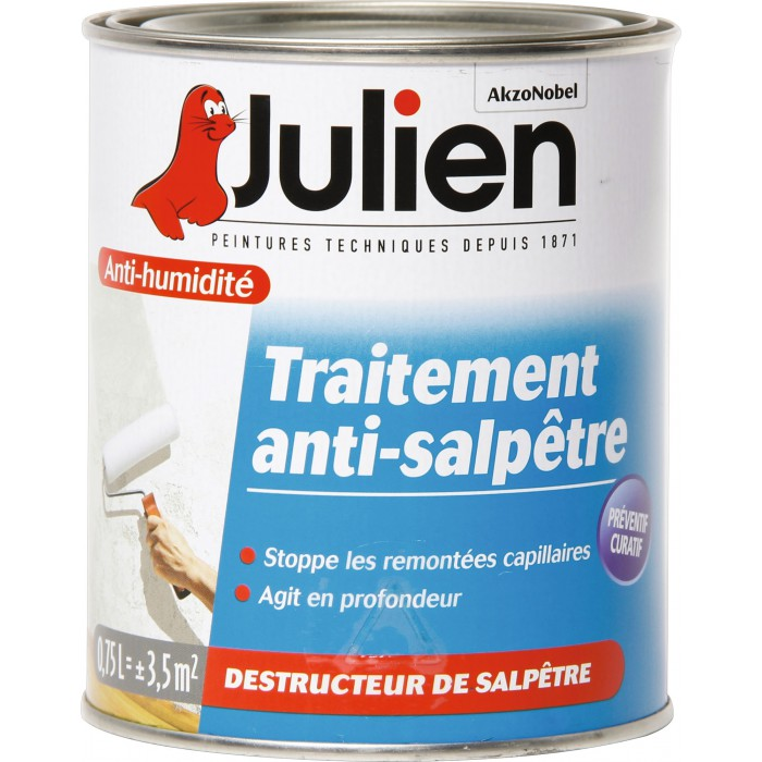 traitement anti salp tre incolore 750 ml julien articles quincaillerie. Black Bedroom Furniture Sets. Home Design Ideas
