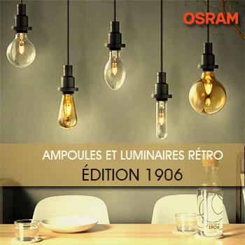 Ampoules Vintage 1906