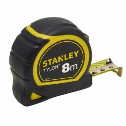 Mètre bi-matière avec boitier ergonomique - 8 M - 25 mm - Tylon - STANLEY