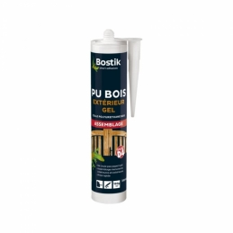 Colle polyuréthane gel - Hautes performances - PU Bois - 310 ml - BOSTIK