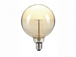 Ampoule Globe décorative - Vintage - 120 mm - 60 Watts - SYLVANIA