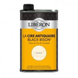Cire d'antiquaire liquide - Black Bison - Incolore - 500 ml - LIBERON