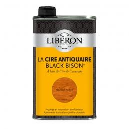 Cire d'antiquaire liquide - Black Bison - Merisier foncé - 500 ml - LIBERON
