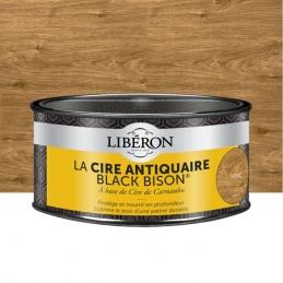 Cire d'antiquaire en pâte - Black Bison - Noyer - 500 ml - LIBERON