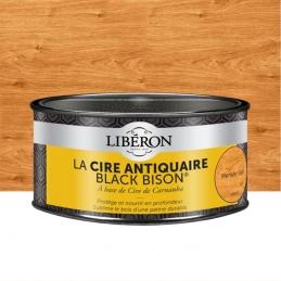 Cire d'antiquaire en pâte - Black Bison - Merisier clair - 500 ml - LIBERON