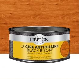 Cire d'antiquaire en pâte - Black Bison - Merisier foncé - 500 ml - LIBERON