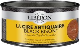 Cire d'antiquaire en pâte - Black Bison - Acajou - 500 ml - LIBERON