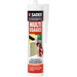 Mastic multi-usages - Translucide - 310 ml - SADER