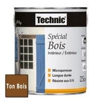 Peinture Spécial Bois - Ton Bois - 0.5 L - TECHNIC