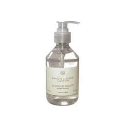 Savon liquide - Amande douce - 250 ml - SAVONNERIE DE BORMES