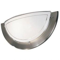 Applique métal et verre - Nickel - EGLO