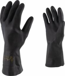 Gants de protection - Néoprène - Spécial produits chimiques - T8 - OUTIBAT