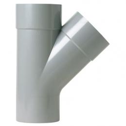 Culotte à 45° Mâle / Femelle - Ø 100 mm - GIRPI