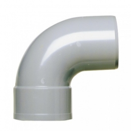 Coude à 87°30 Mâle / Femelle - Ø 125 mm - GIRPI