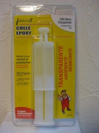 Colle époxy - Transparente - 25 ml - IDEES-FIX