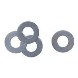 Rondelle plate en acier cadmié - Ø 17.5 x 33 mm - Boîte de 200