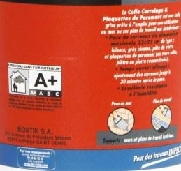 Sader - Colle carrelage mural intérieur / Boîte 1,5 kg
