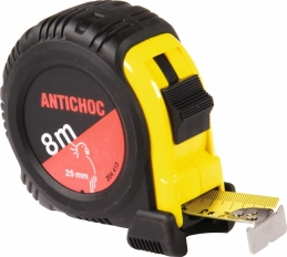 Mètre antichoc - Boitier ABS - 8 M - OUTIBAT