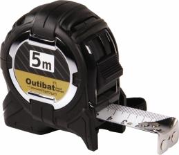 Mètre premium - Boitier ABS - 5 M - OUTIBAT