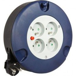 Enrouleur domestique - H05 VV-F 3G 1,5 mm² - Longueur 5 m - DHOME