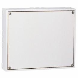 Platine démontable pour interrupteur Pac - Fixation murale -150x125x35 mm -Blanc - LEGRAND