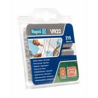 Agrafes VR 22 en acier galvanisé - Boîte de 215 - RAPID