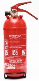 Extincteur 1kg à poudre polyvalente abc - KIDDE
