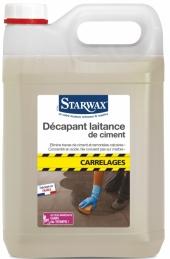 Décapant laitance de ciment pour carrelages - 5L - STARWAX