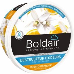 Destructeur d'odeur - Fleur d'oranger - Gel solide 300 gr - BOLDAIR