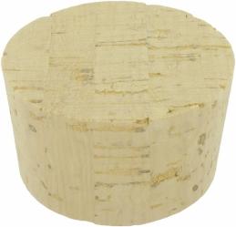 Bouchon en liège - Bonde conique - 55 x 50 mm - DUHALLE