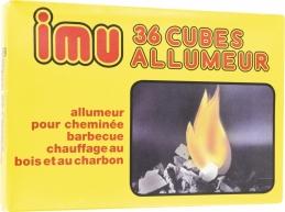 Allume-feux - 36 cubes allumeur - IMU