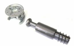 Ferrure encactrée excentrique - Acier - 15 mm - STRAUSS VONDERWEIDT
