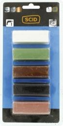 Pâte à polir - pour polissage - Lot de 5 - SCID