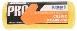 Manchon pour rouleau de peinture - Spécial crépi grain fin - 180 mm - OUTIBAT