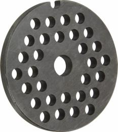 Grille pour hachoir - Acier - 6.5 mm - TELLIER
