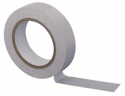 Ruban adhésif isolant - 15 mm x 10 M - Blanc - DHOME