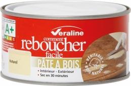 Pâte à bois - Comment reboucher facile - Naturel - 250 Grs - VERALINE